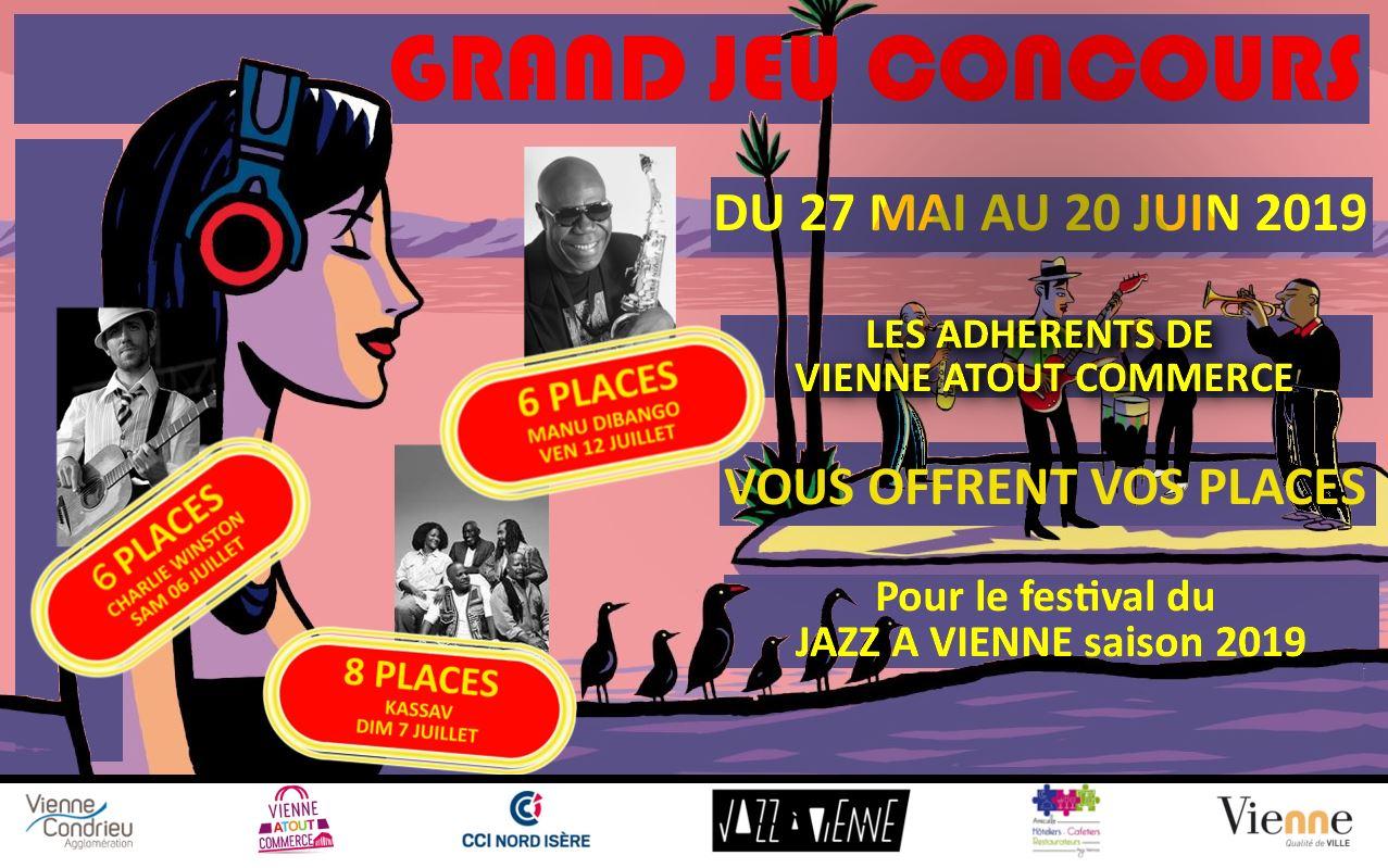 Jeu concours jazz à Vienne