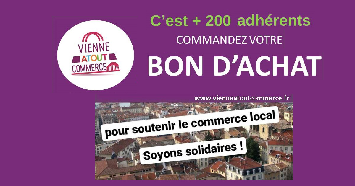 Bon d'achat Vienne Atout Commerce